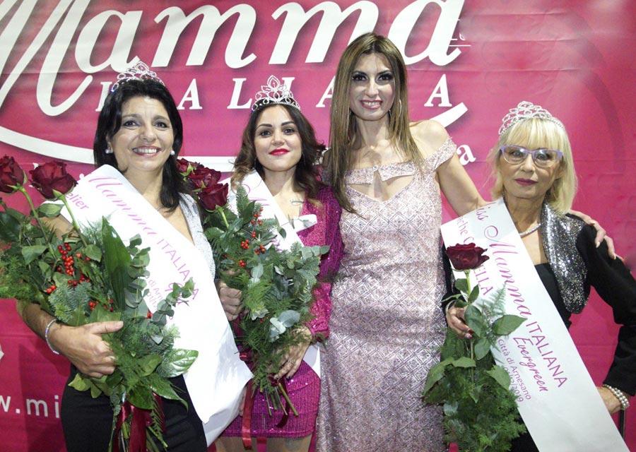 Vincitrici della selezione di Miss Mamma Italiana 2020 a Lecce