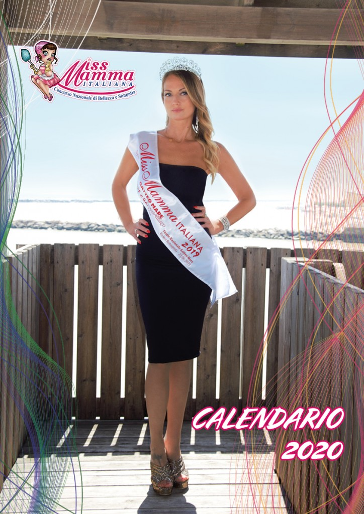 Calendario 2020 Miss Mamma Italiana - 00 copertina