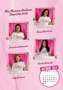 Calendario 2020 Miss Mamma Italiana - 00 dicembre 2019
