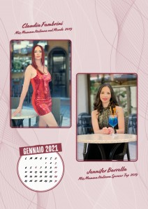 Calendario 2020 Miss Mamma Italiana - 13 gennaio 2021