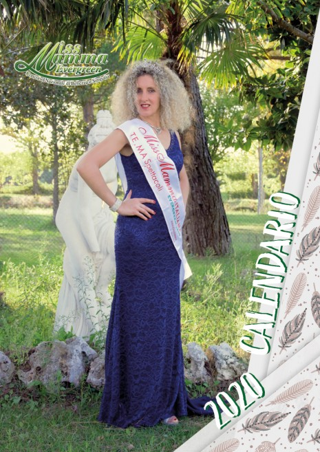 Calendario 2020 Miss Mamma Italiana Evergreen - 00 Copertina