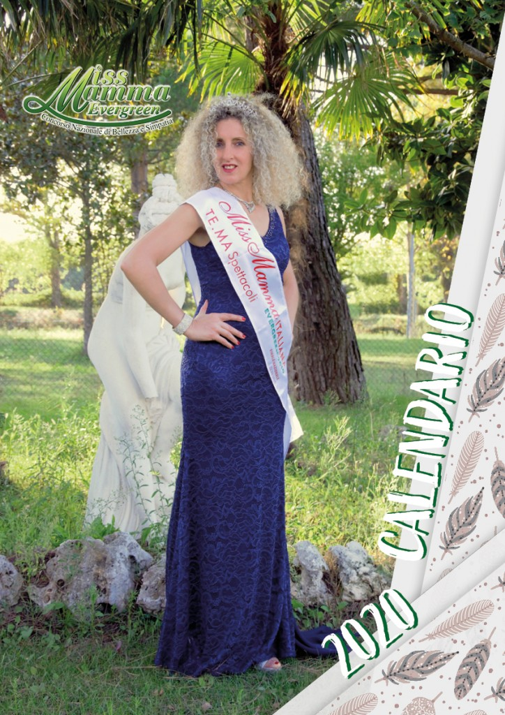 Calendario 2020 Miss Mamma Italiana Evergreen - 00 Copertina