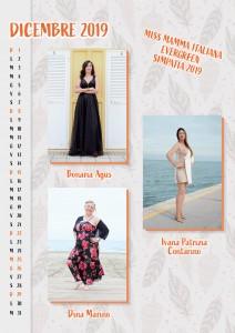 Calendario 2020 Miss Mamma Italiana Evergreen - 00 Dicembre 2019