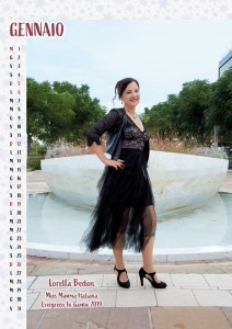 Calendario 2020 Miss Mamma Italiana Evergreen - 01 Gennaio