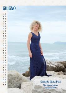 Calendario 2020 Miss Mamma Italiana Evergreen - 06 Giugno