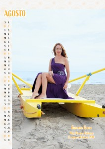 Calendario 2020 Miss Mamma Italiana Evergreen - 08 Agosto