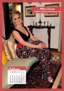 Calendario 2020 Miss Mamma Italiana Gold - 02 febbraio
