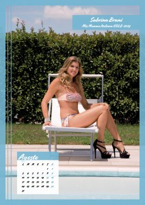 Calendario 2020 Miss Mamma Italiana Gold - 08 agosto