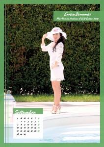 Calendario 2020 Miss Mamma Italiana Gold - 09 settembre