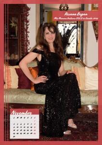 Calendario 2020 Miss Mamma Italiana Gold - 11 novembre