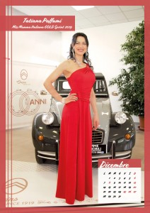 Calendario 2020 Miss Mamma Italiana Gold - 12 dicembre