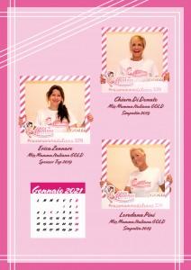 Calendario 2020 Miss Mamma Italiana Gold - 13 gennaio 2021