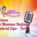 Selezione Miss Mamma Italiana a Natural Expo a Forli