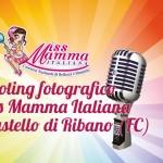 Shooting fotografico di Miss Mamma Italiana al Castello di Ribano (FC)