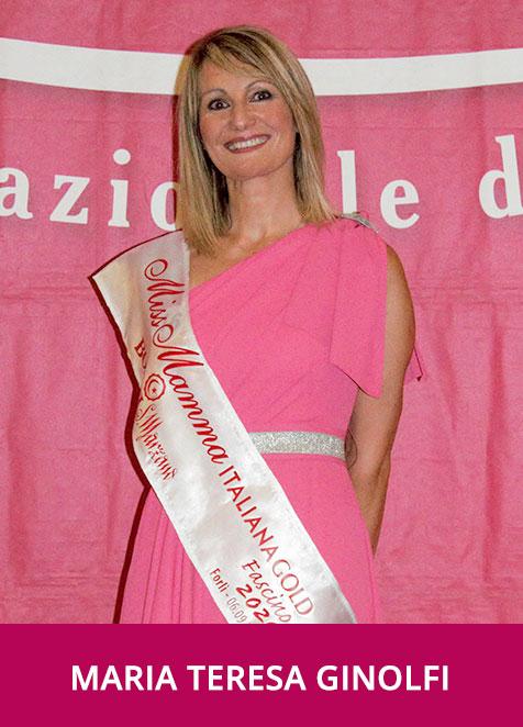 Maria Teresa Ginolfi MMI Gold Fascino 2020