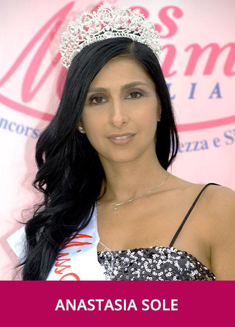 Anastasia Sole Miss Mamma Italiana 2020
