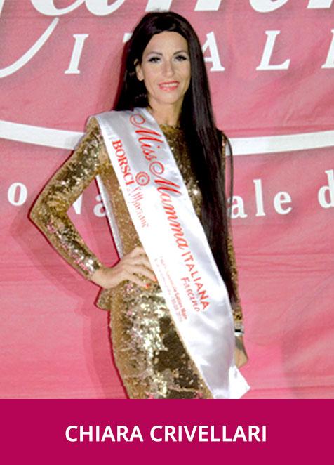 Chiara Crivellari Miss Mamma Italiana Fascino 2020