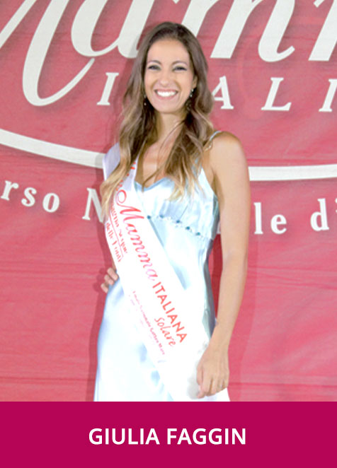 Giulia Faggin Miss Mamma Solare 2020