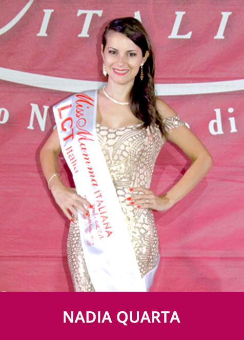 Nadia Quarta Miss Mamma Italiana Dolcezza 2020