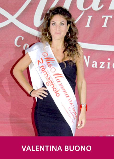 Valentina Buono Miss Mamma Italiana Radiosa 2020