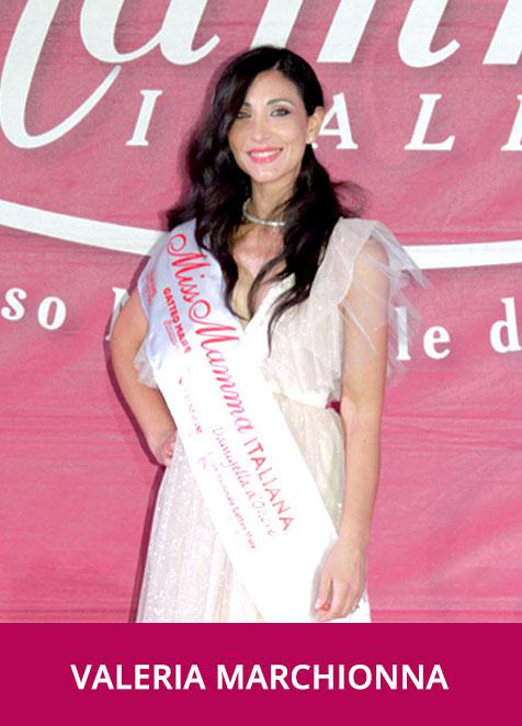 Valeria Marchionna Miss Mamma Italiana Dmigella d'Onore 2020