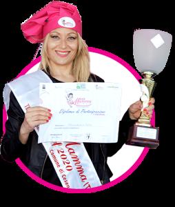 Francesca Papa Vincitrie Miss Mamma Italiana Chef 2020