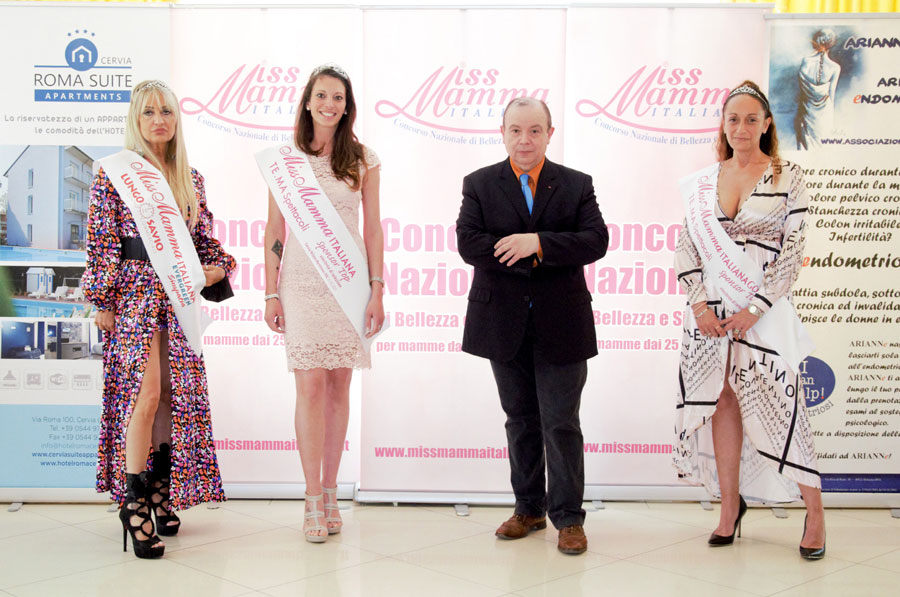 Mamme Vincitrici selezione Miss Mamma Sponsor Top 2021 Cervia