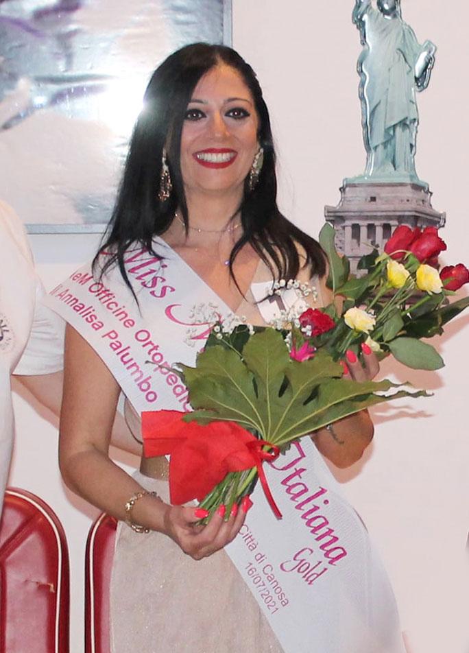 Vincitrice Miss Mamma Italiana Gold selezione Canosa di Puglia