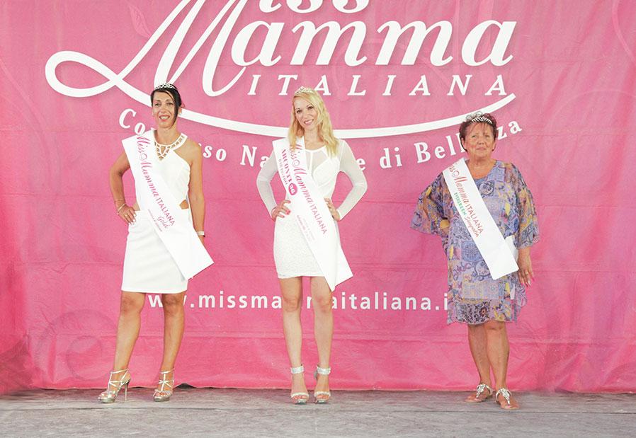 Vincitrici selezione Miss Mamma Italiana 2021 a Gallarate
