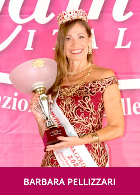 Barbara Pellizzari Miss Mamma Italiana Gold 2021